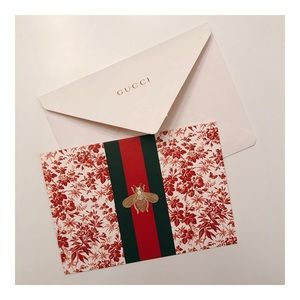 RARE Gucci Card & Envelope